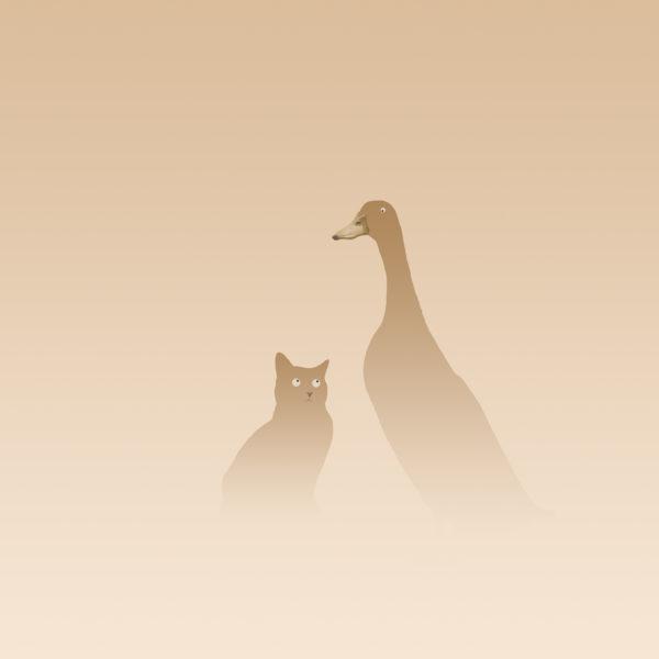 eend en kat