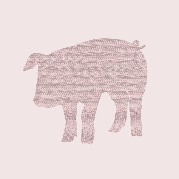 pig_silhouette_002